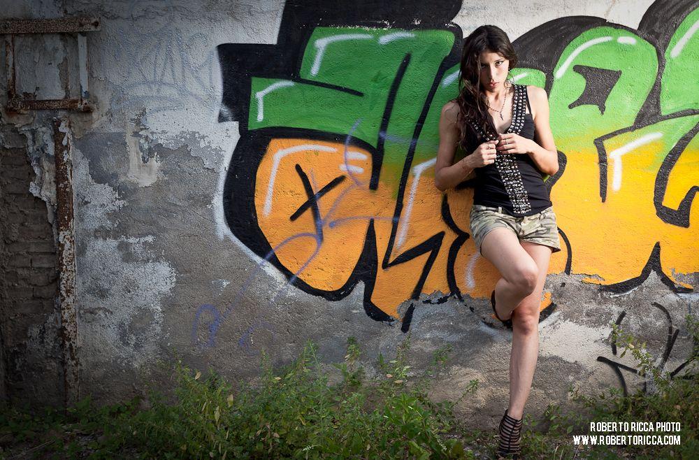 Model Shooting con Veronica