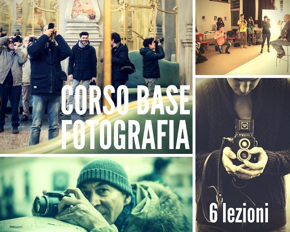 Corso base fotografia Brescia