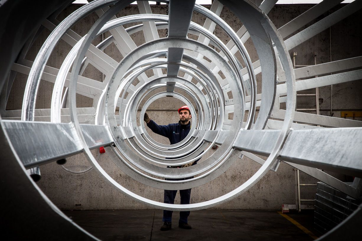 Fotografo industriale Brescia per Zincatura Bresciana