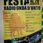 programma Festa radio Onda Urto