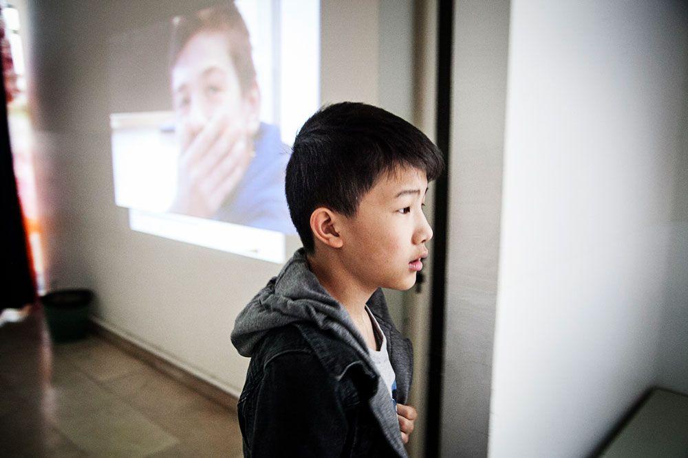 studente cinese immigrazione scuola media reggio emilia workshop donald weber