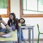 aula scuola media studentessa cinese immigrazione reggio emilia workshop donald weber