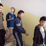 studente cinese immigrato aula scuola media reggio emilia workshop donald weber