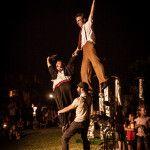 clown in libertà spettacolo del teatro necessario buskers festival