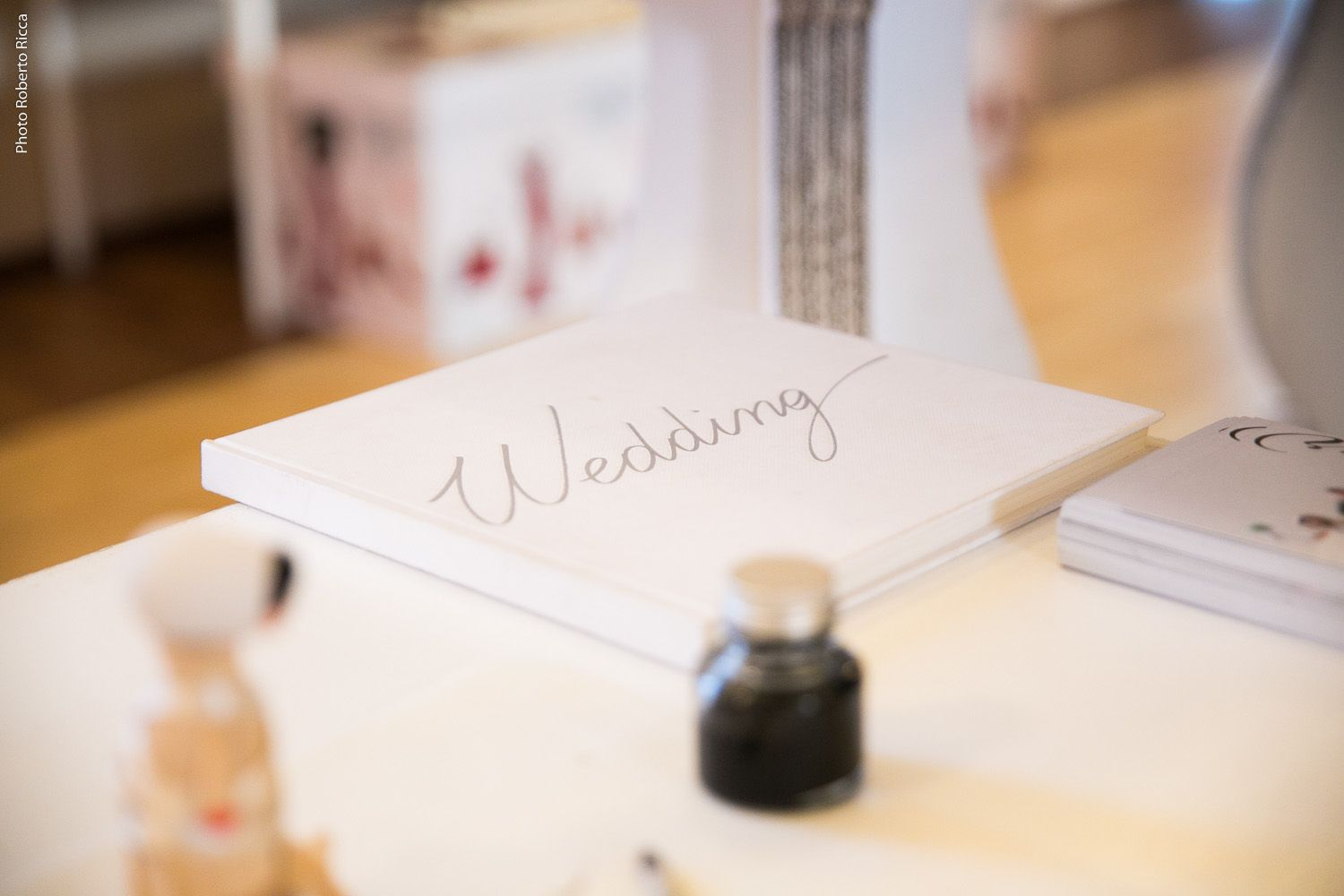 libro matrimonio album wedding calamaio