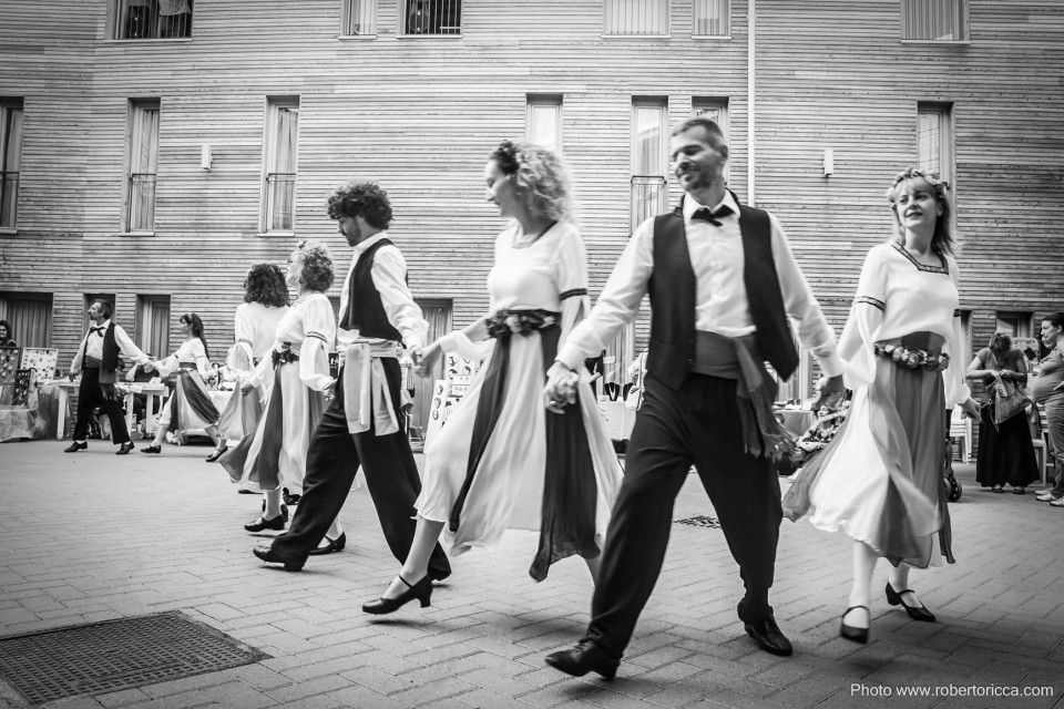 reportage danze popolari il salterio