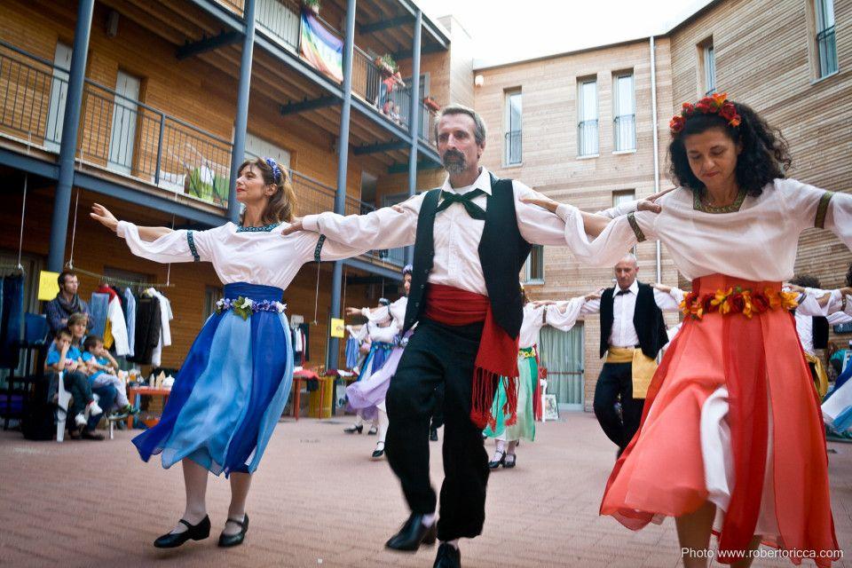 danze popolari il salterio