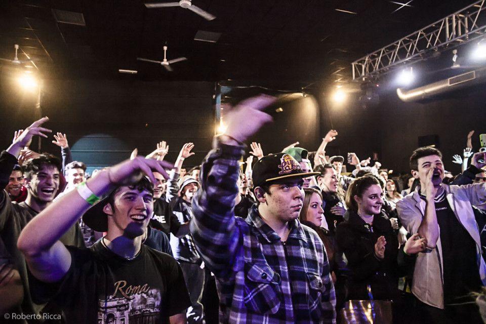 concerto pubblico hip hop