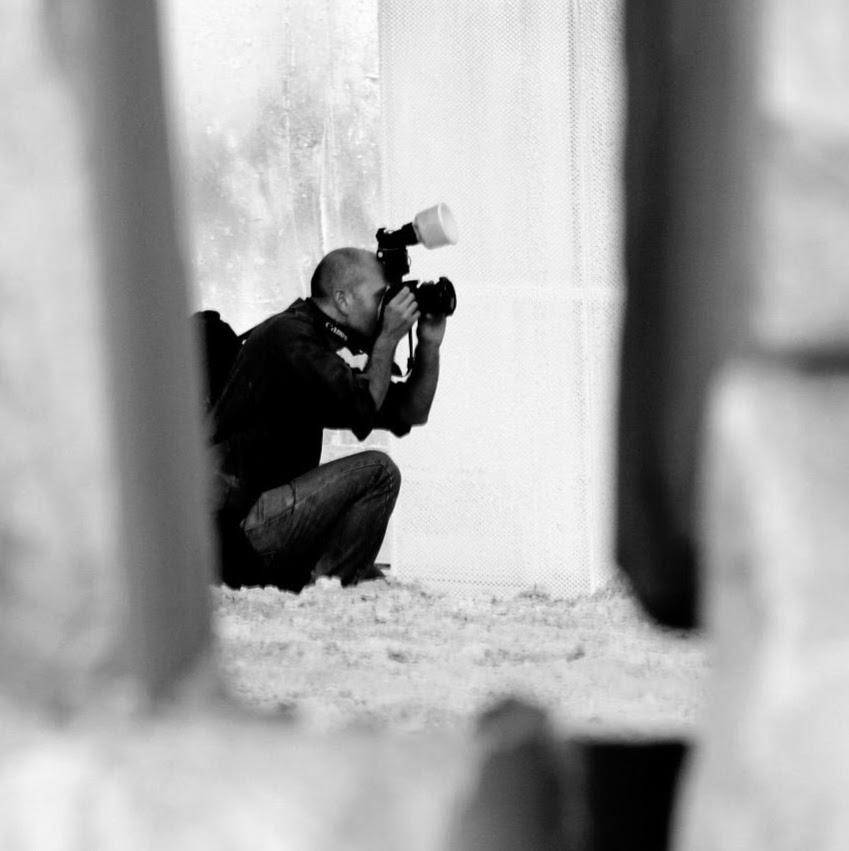 Roberto Ricca Fotografo a Brescia ritratto tra le cave di marmo a Botticino