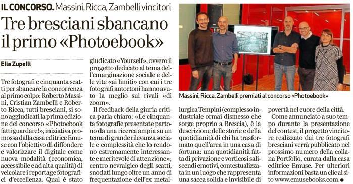 fotografi di brescia premiati a milano con pubblicazione ebook Yourself