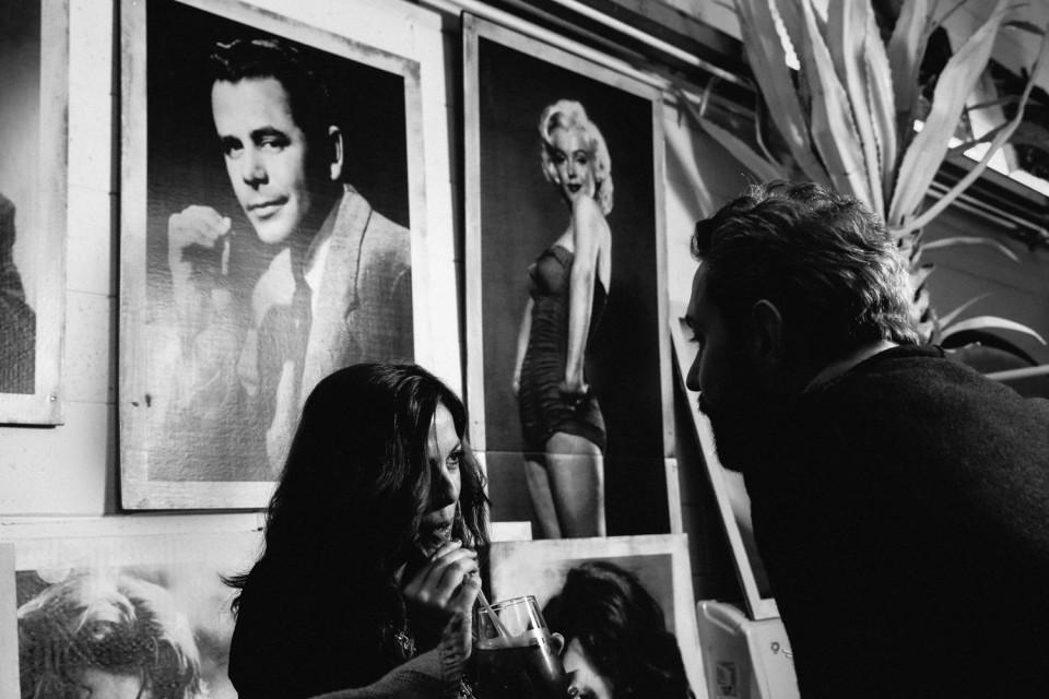 ritratto, noir, anni 50