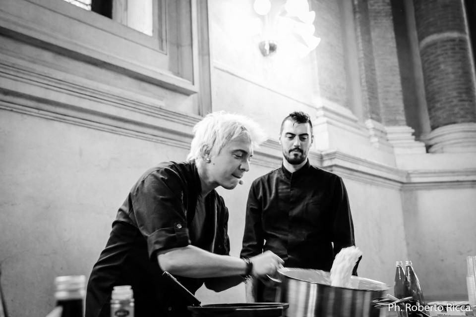 Andrea Mainardi, Brescia Gustosa, Show Cooking