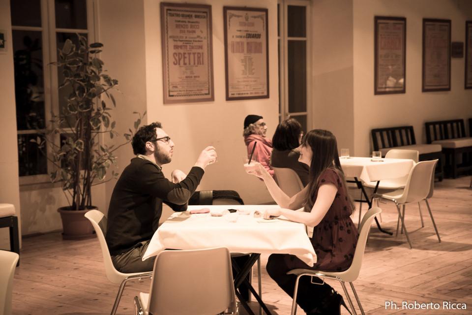 brescia gustosa, teatro grande, aperitivo giapponese, Chef carlo Bresciani, salone delle Scuderie