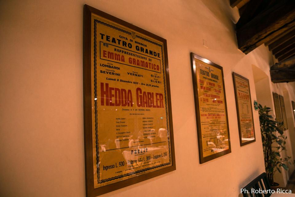hedda gabler, teatro grande brescia