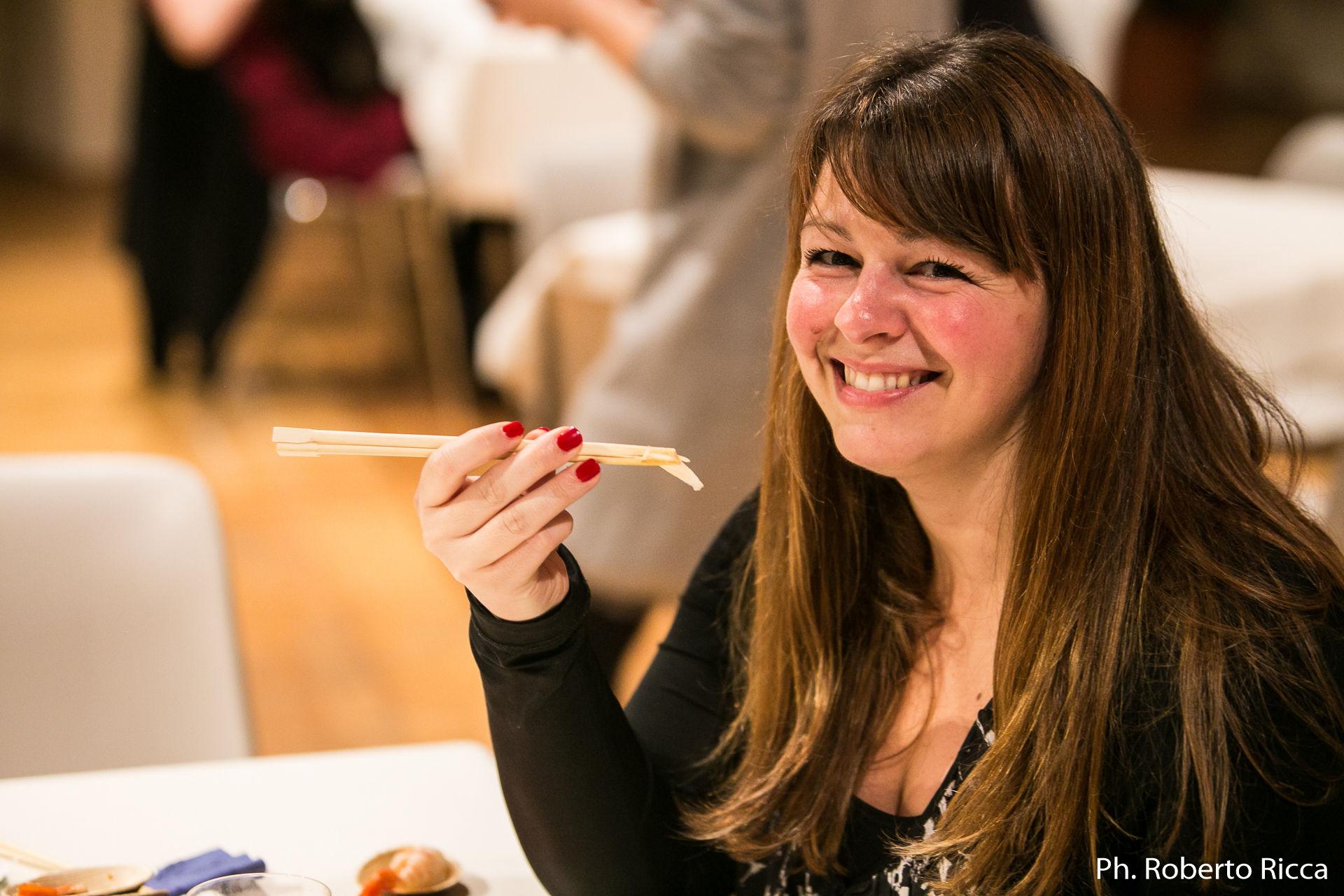 Brescia gustosa, aperitivo giapponese