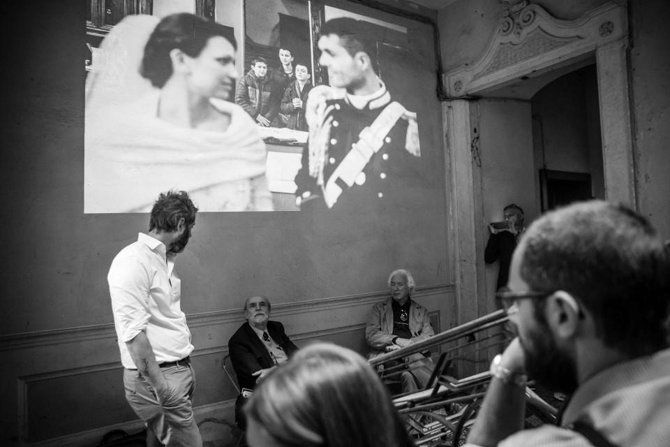 Proiezione di foto con intervento del critico d'arte de La Stampa Marco Vallora