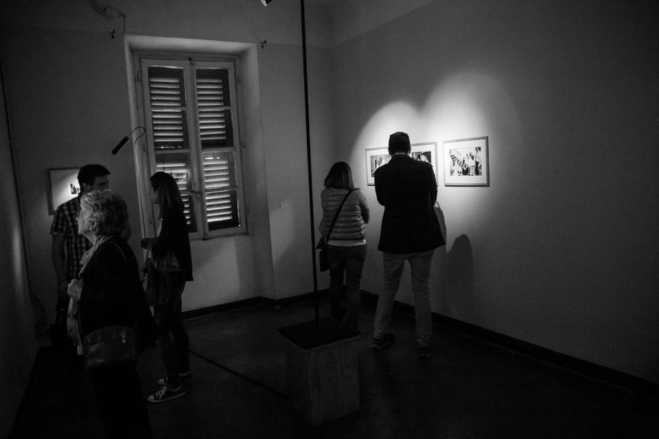 Alcuen opere della mostra Il Tempo nel Mezzo