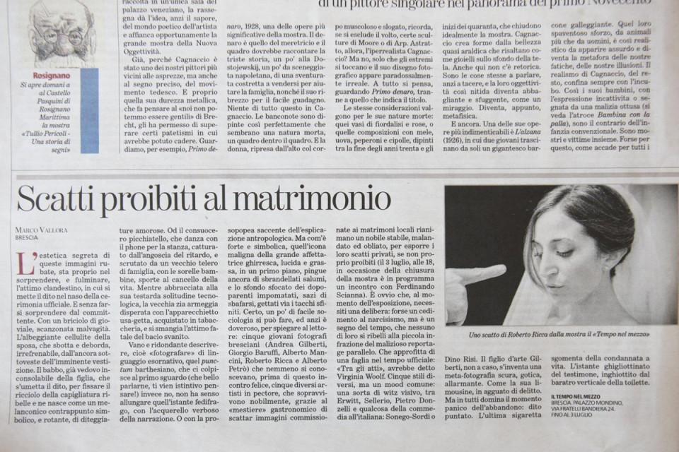 L'articolo su La Stampa ed. Nazionale di Marco Vallora