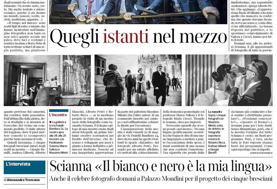 Seconda parte dell'articolo del Corriere della Sera - Brescia