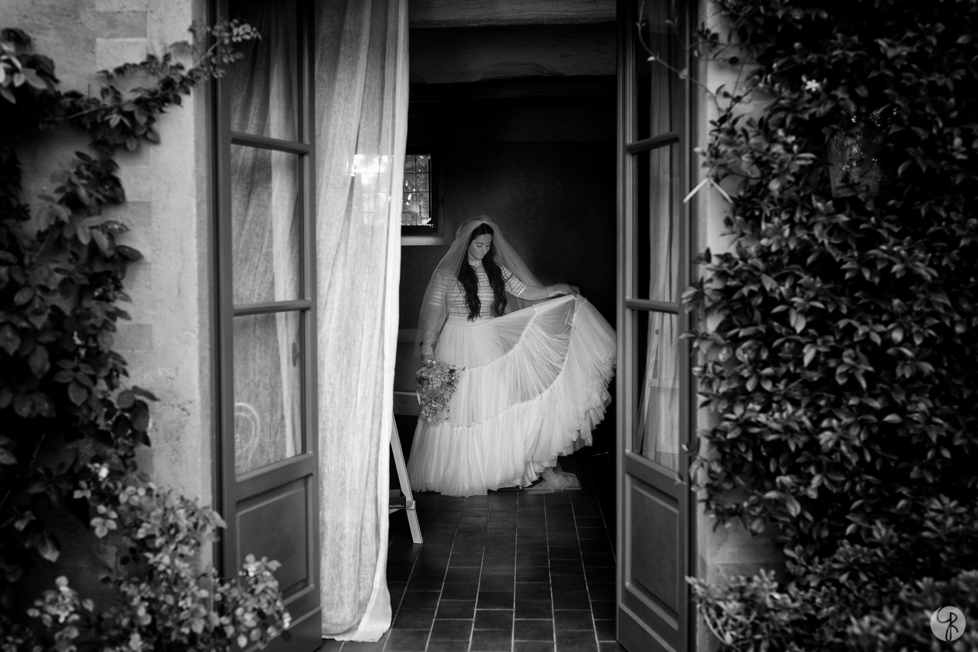 vestito sposa preparazione al Convento dell'Annunciata