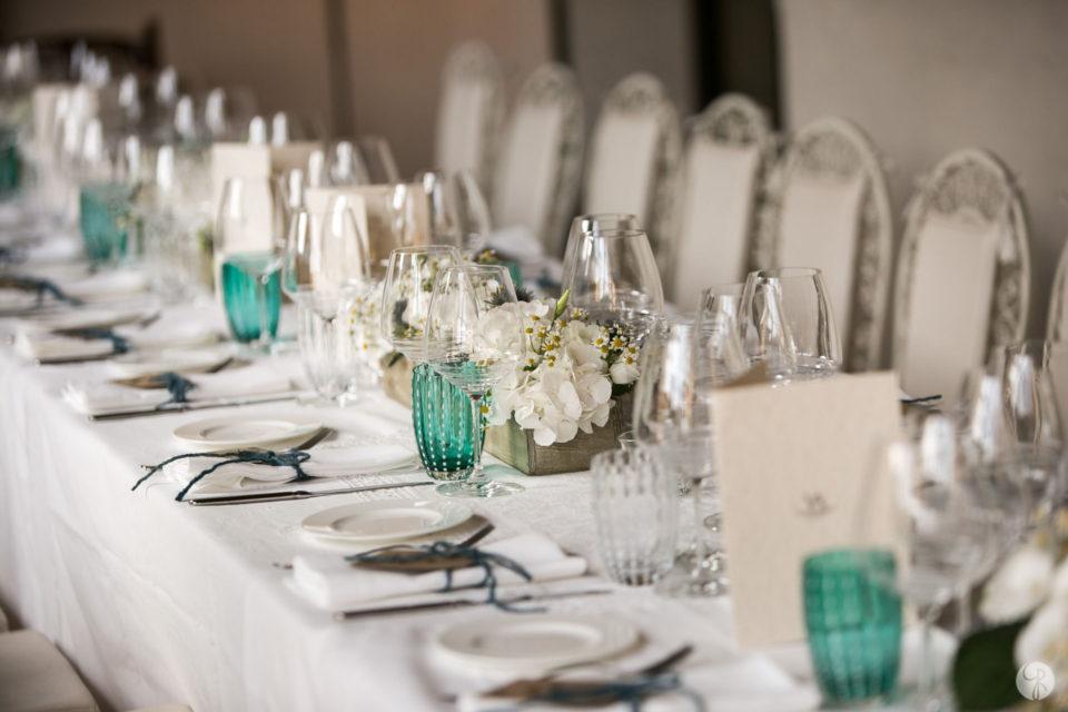 dettagli cena matrimonio Villa Arcadio