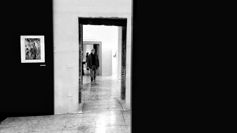 Inaugurazione del Brescia Photo festival, mostra di Uliano Lucas