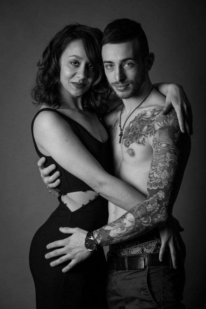 Ritratto fotografico book Brescia in studio