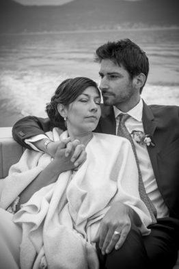 Coppia lago Iseo matrimonio