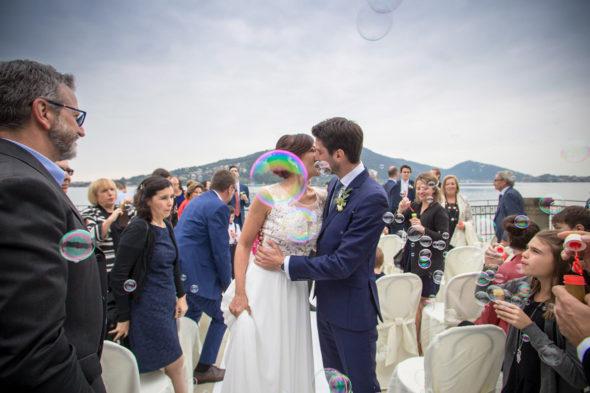 lancio bolle sposi villa surre matrimonio lago iseo