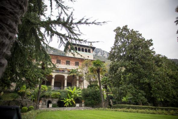 villa Surre Sarnico esterni