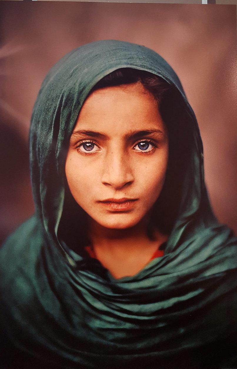 ragazza afghana McCurry