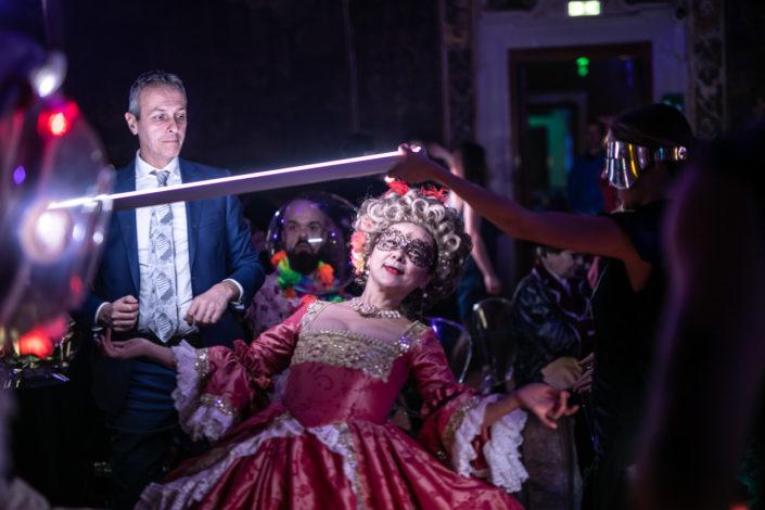 Evento ufficiale in maschera al Carnevale di Venezia
