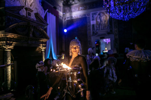 lunatic dinner ball carnevale di Venezia