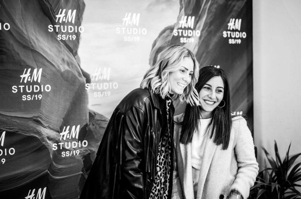 evento H6M Milano studio photo booth