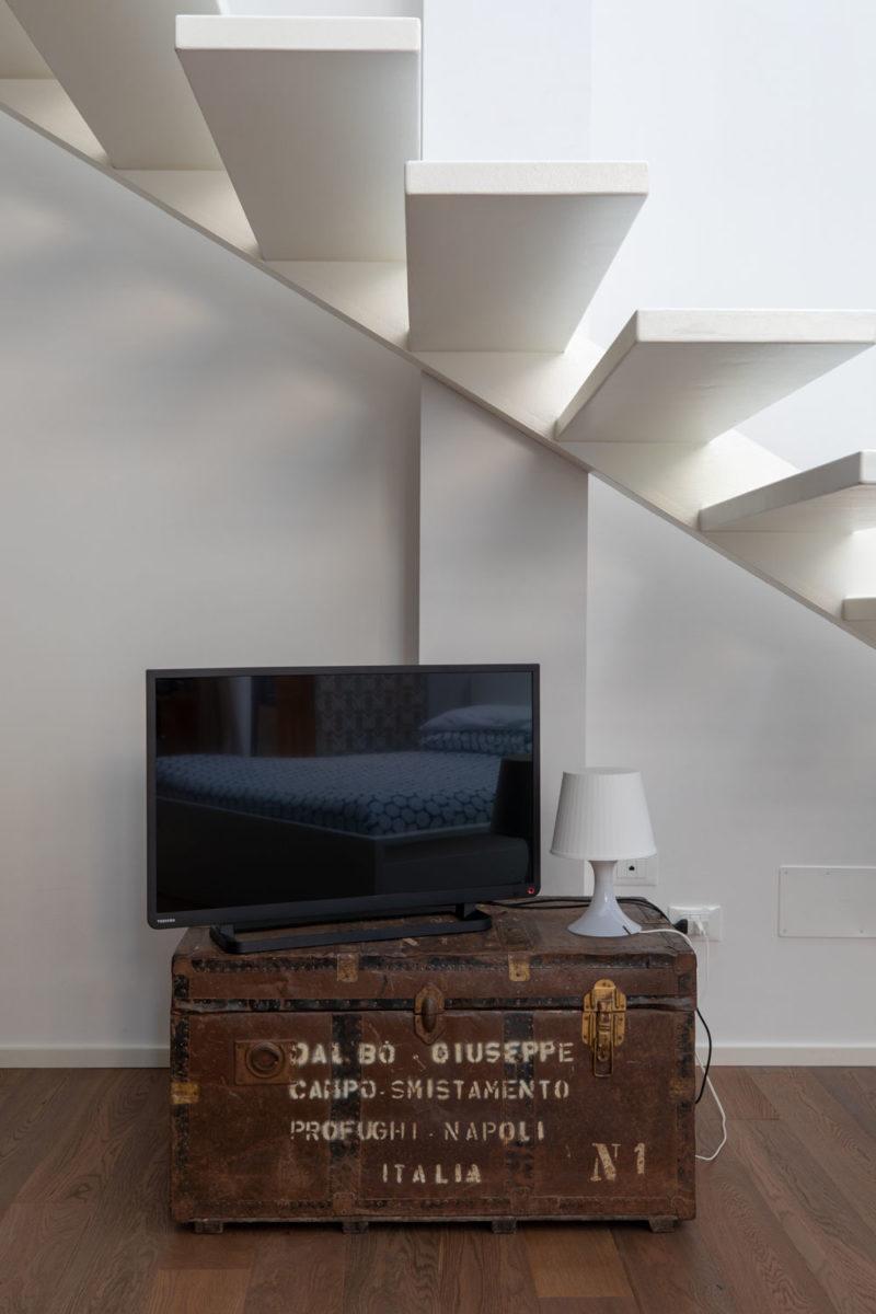 servizio fotografico interni architettura a Brescia per B&B Magazzino Bianchi