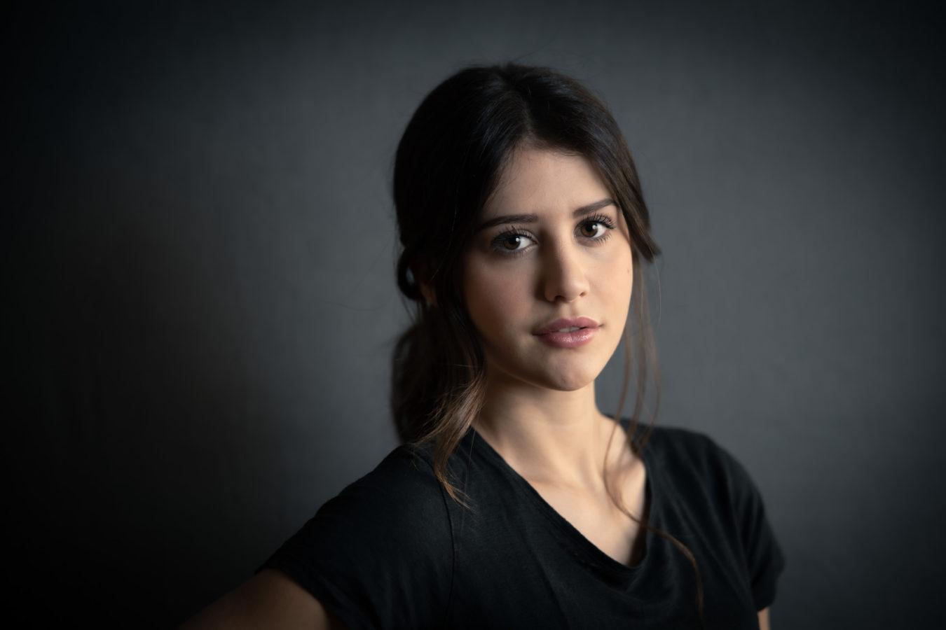 ritratto fotografico per modella e attrice a Brescia
