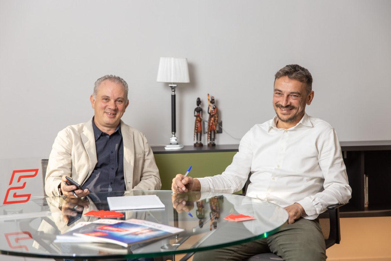 foto ritratti imprenditori Euroimpianti verona
